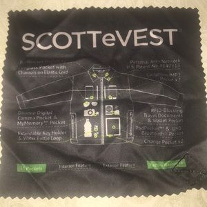 Scottevest Jackets & Coats - Tech SCOTTeVEST Jacket New 25 Pockets